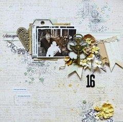 16 Years **C'est Magnifique July Kit**