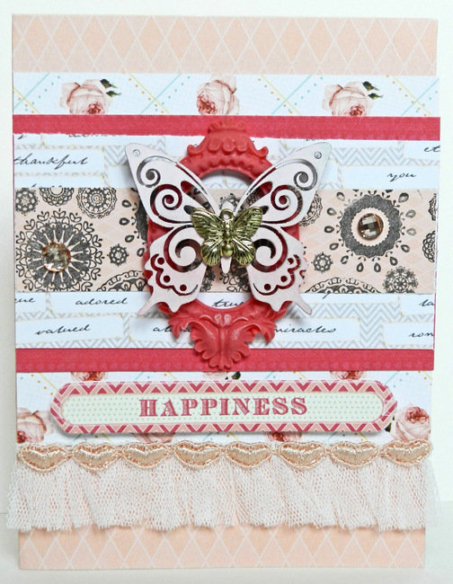 Happiness Card **Webster's Pages**