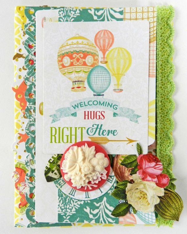 Welcoming Hugs {Card} **Webster's Pages**