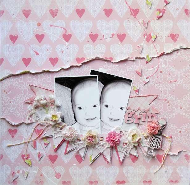 """""""Grin""""- C'est Magnifique April 2012 Kit"""