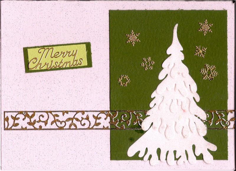 Snow Layered Tree