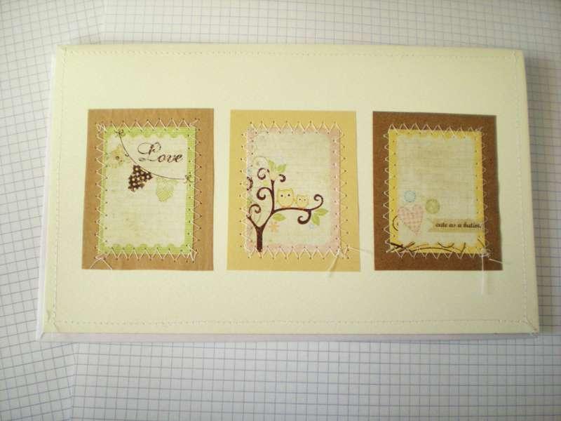 Love baby card