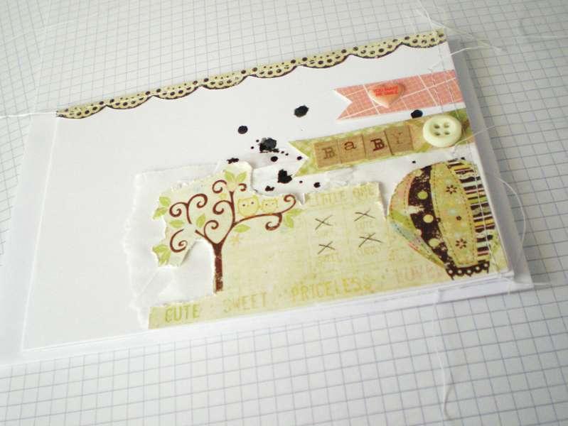 Baloon baby card