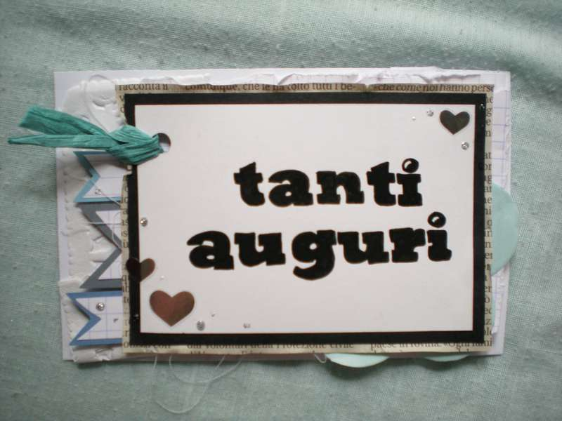 Birthday card TANTI AUGURI
