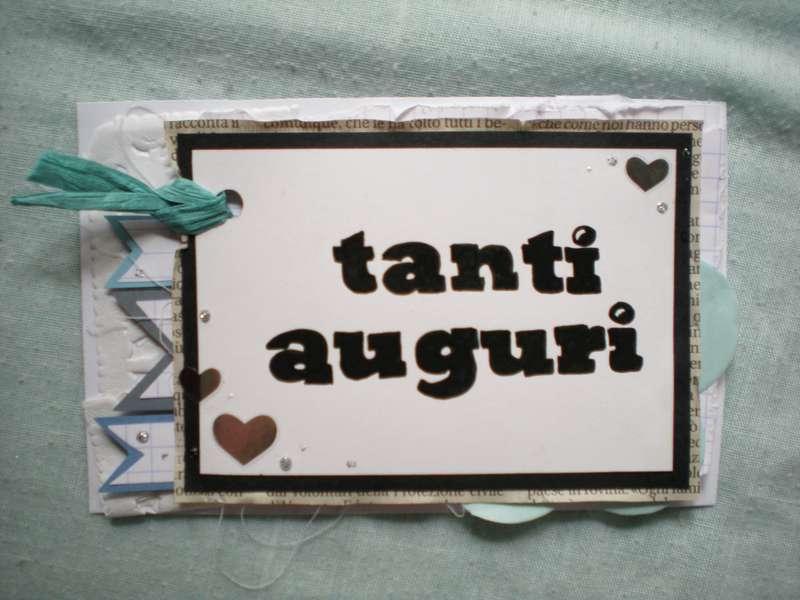 Birthday card TANTI AUGURI