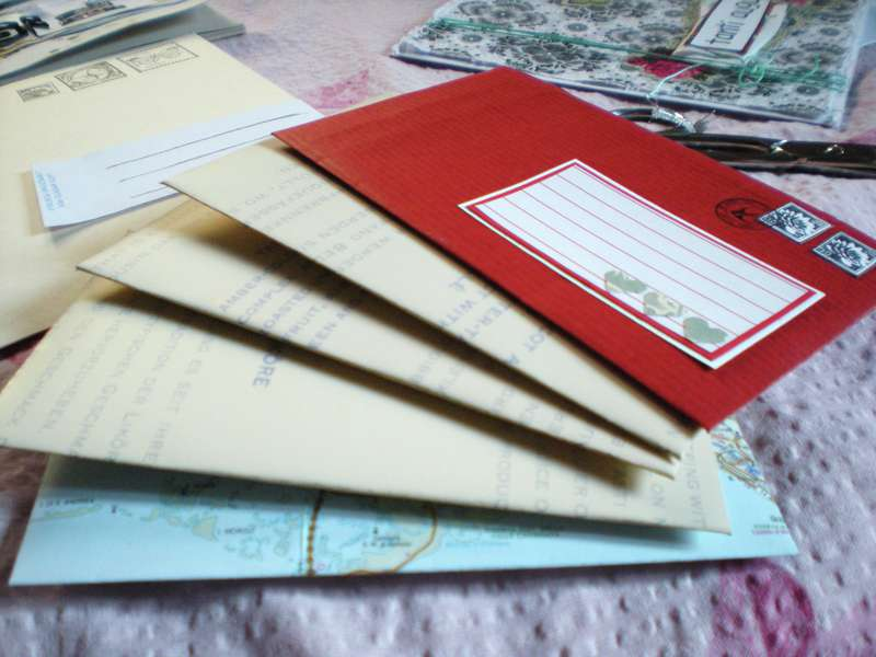 Colorful envelopes