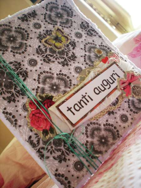 Tanti auguri birthday card