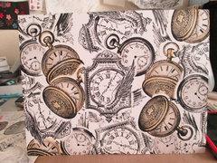 LaBlanche Clock Collage
