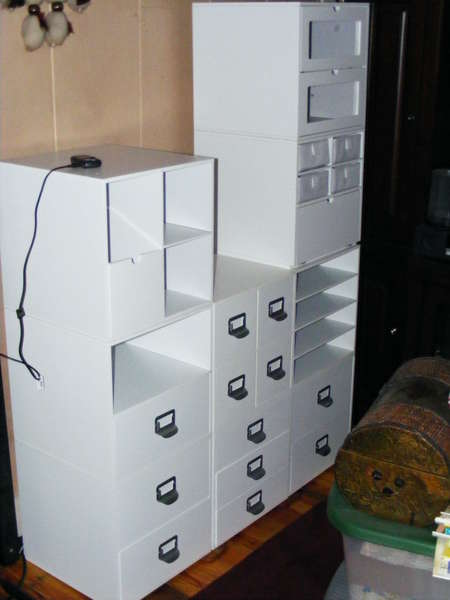 Scraproom Storage Cubes from M's