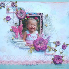 Roar of a Pretty Girl... - Scraps of Elegance August Kit