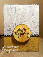 CARD - Enjoy the journey
