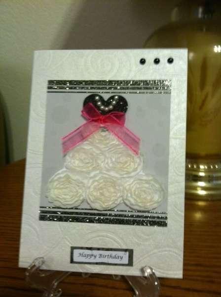 Prom Dress Card