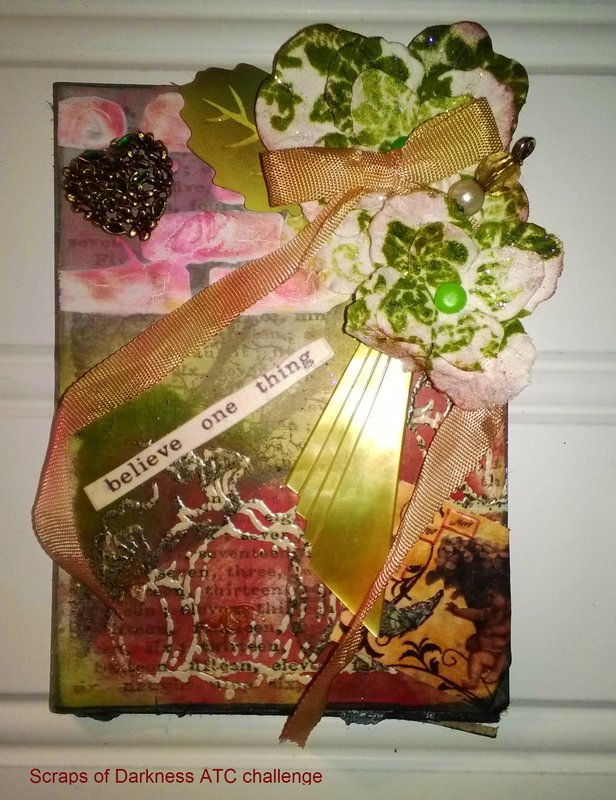 Scraps of Darkness ATC challenge July/August