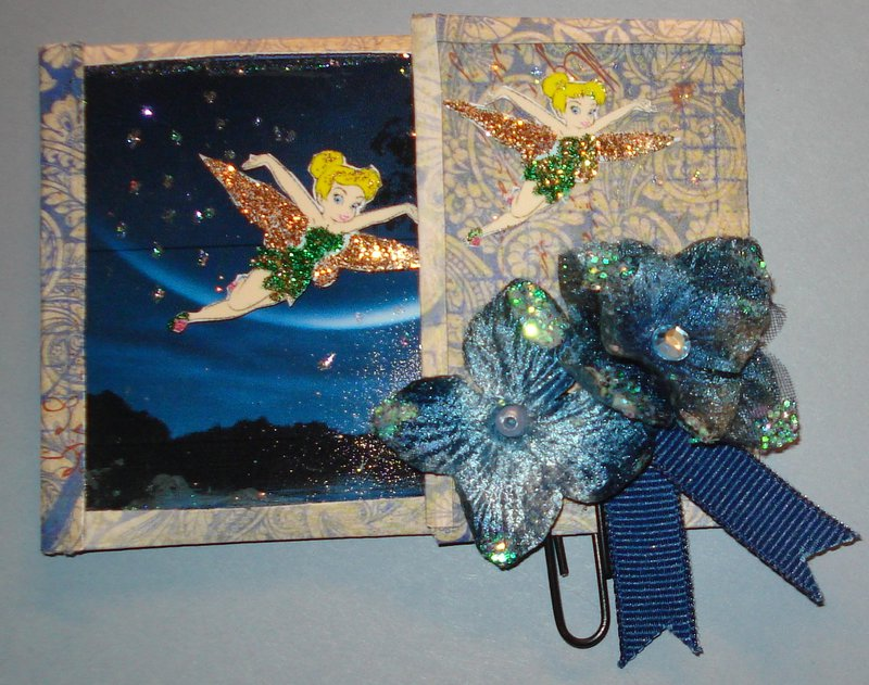 Scraps of Darkness ATC challenge--Make a Wish-----Outside