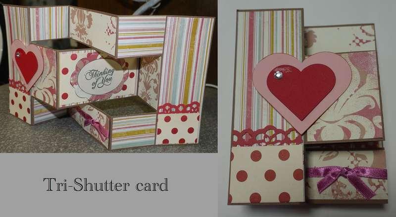 tri-shutter card