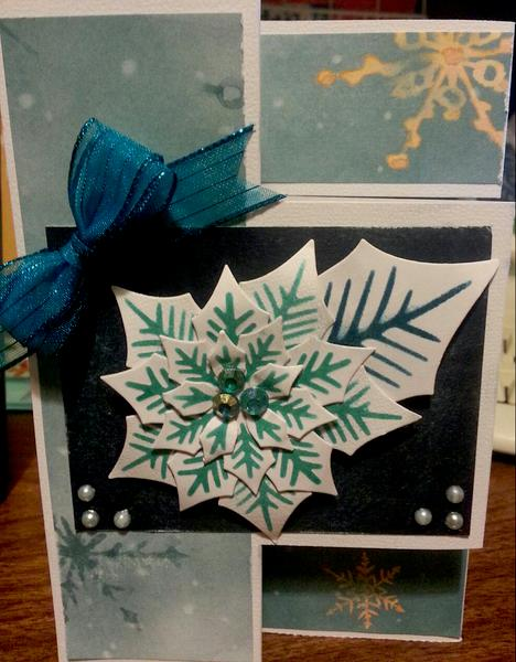Tri-fold Christmas Card (Closed)