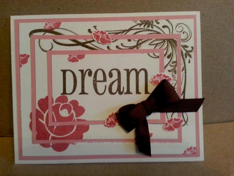 Dream Triple Time Card