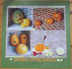 pumpkin carving bonanza!