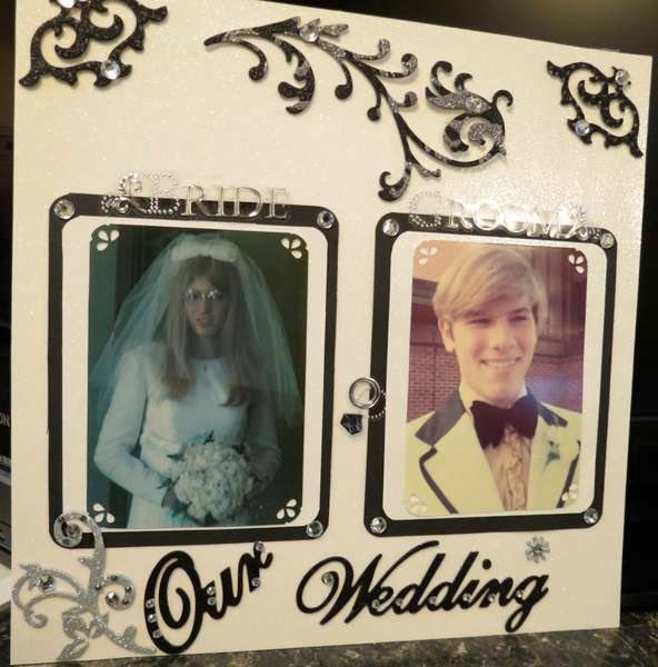 Our Wedding Day 10/07/1972