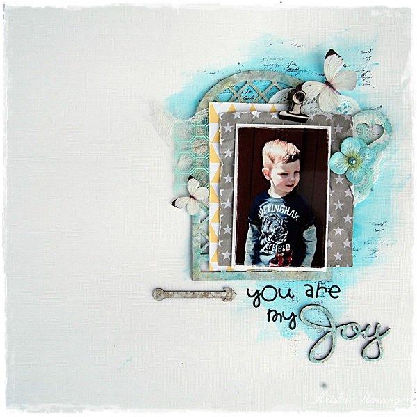 You are my joy - DT Blue Fern Studios