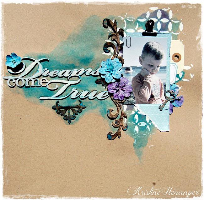 Dreams come true *Blue Fern studios*