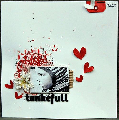 Tankefull