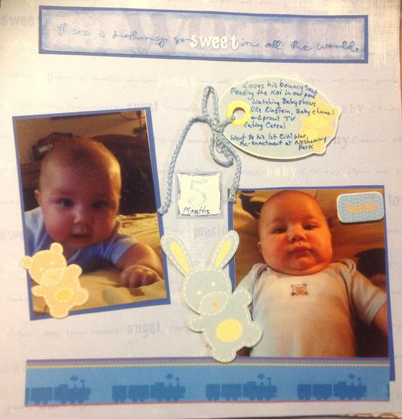 Lukas 5 months
