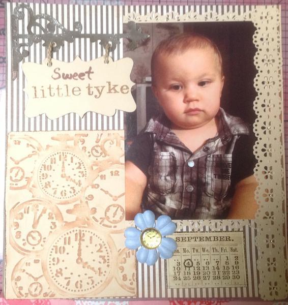 Lukas 10 months