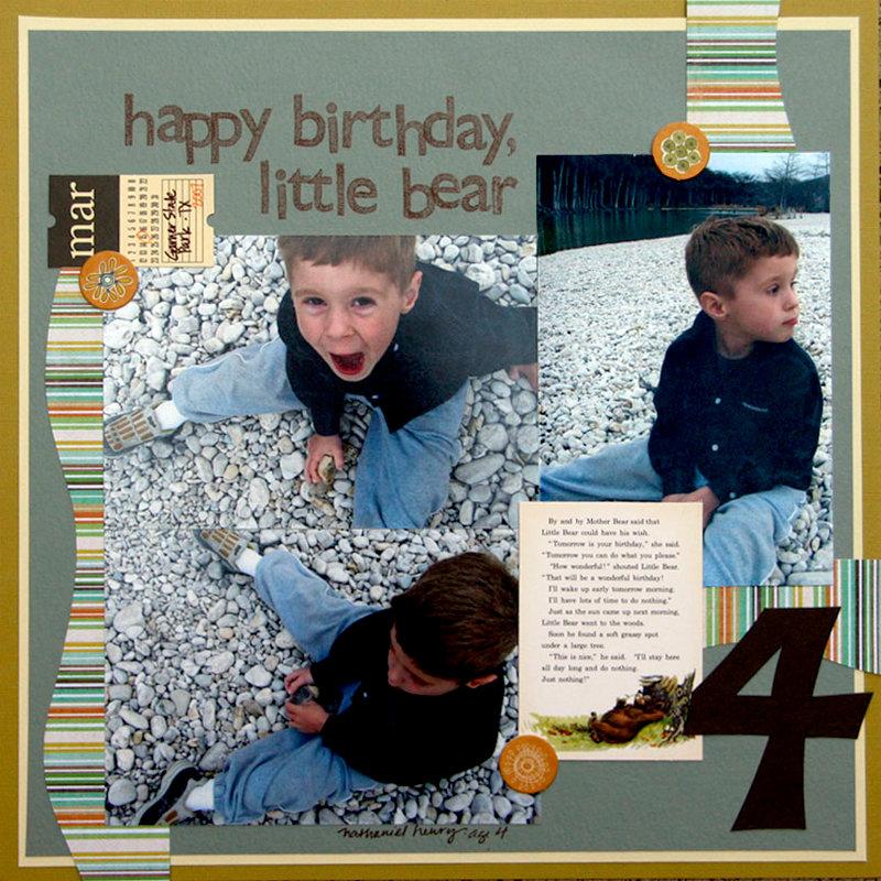 happy birthday little bear