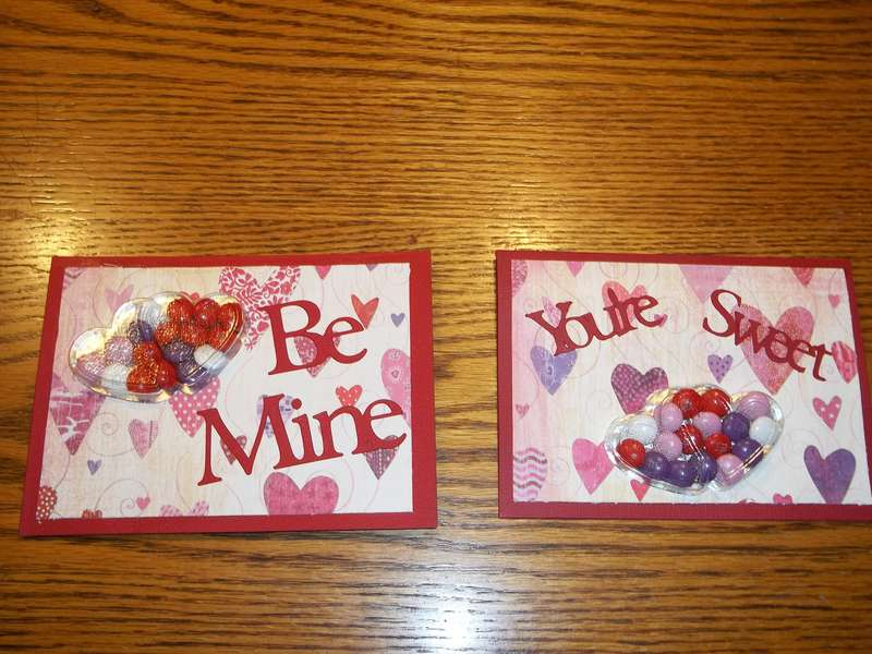 Treat Cards for Valentine's Day