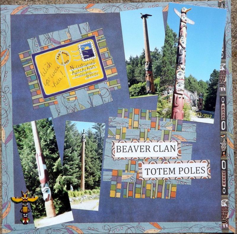 Beaver Clan Totem Poles