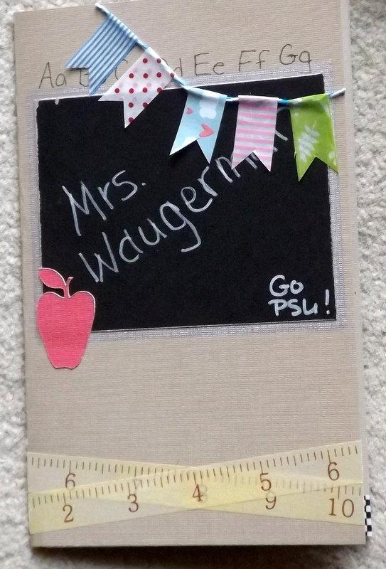 Teacher card - front