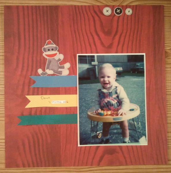 Derek 6 months old