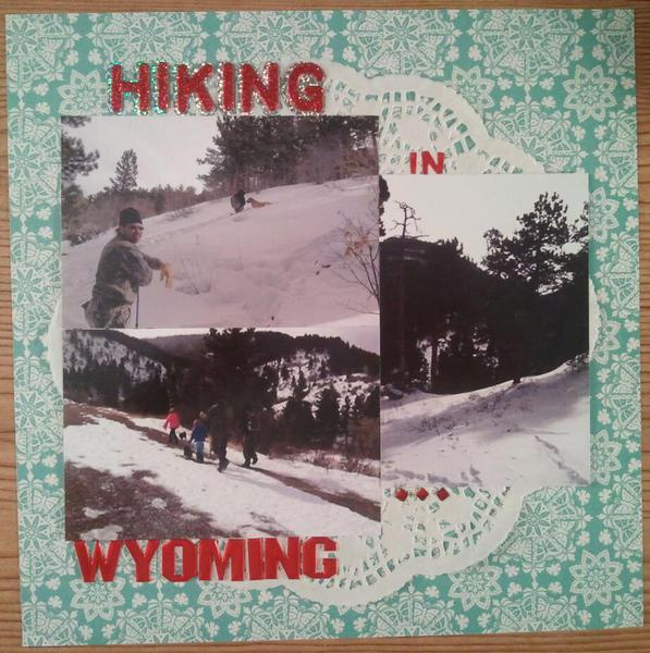 Hiking In Wyoming