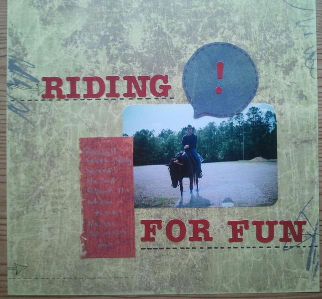 Riding For Fun