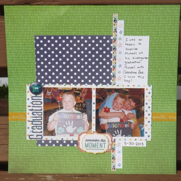 graduation: August Scraptastic kit