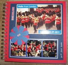 Guards at Buckingham Palace (8x8)