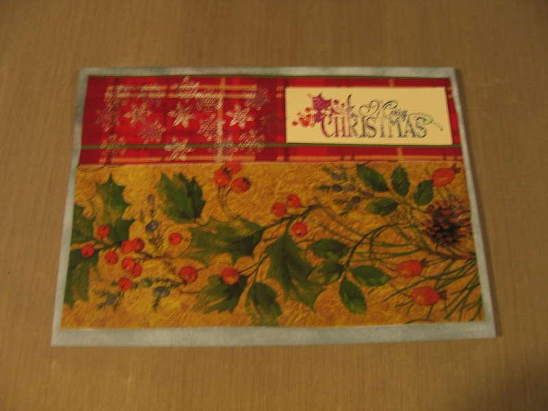 Virtual Christmas Card Idea Swap/Challenge  (gift wrap)