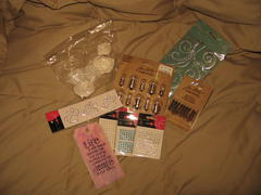 My first MOTM package from Scrappy_day.