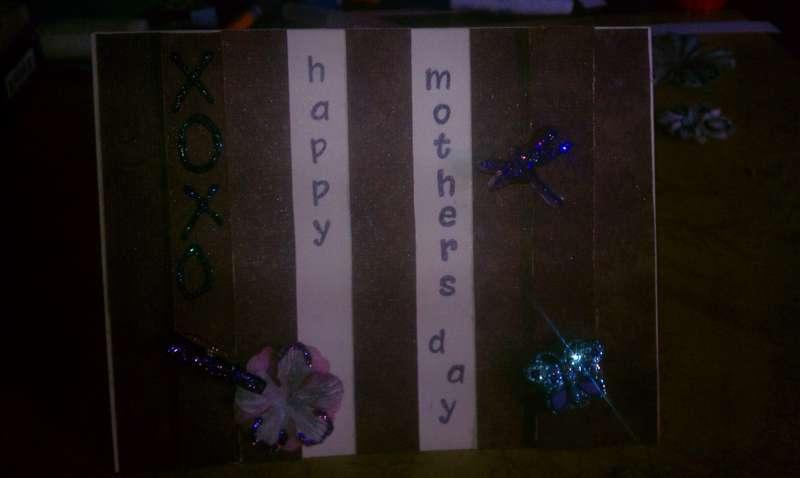 Ms. Kims Mommas day card