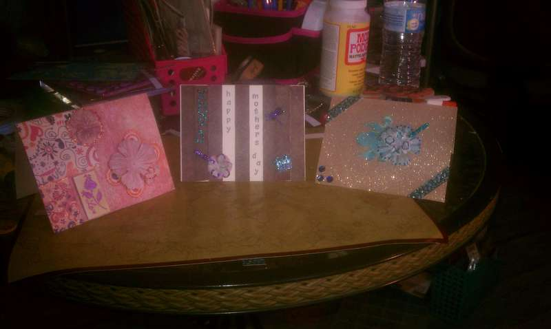 The Mommas day cards!!