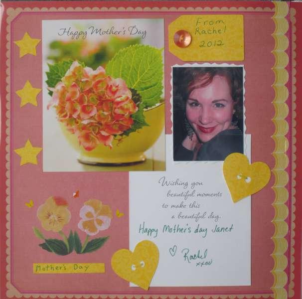 Rachel's Mother's Day Card