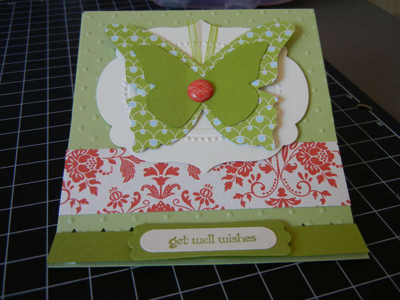 Butterfly Easel Card