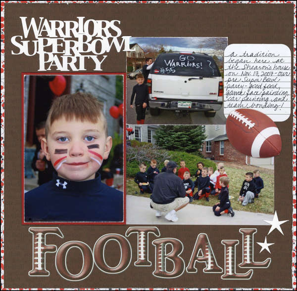 Warriors Superbowl Party (football)
