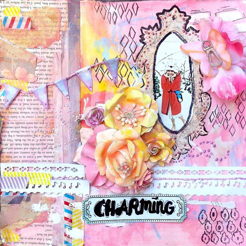 Charming layout# Flying unicorn
