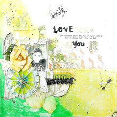 Love who you are CSI#65