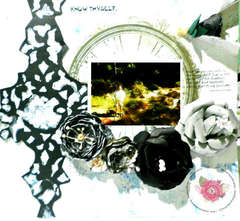 Know Thyself (Mixed media Layout)