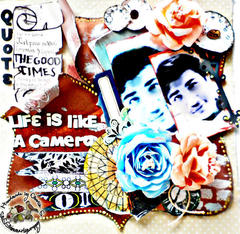 Life Is LIke A CaMeRa~Once upon a sketch