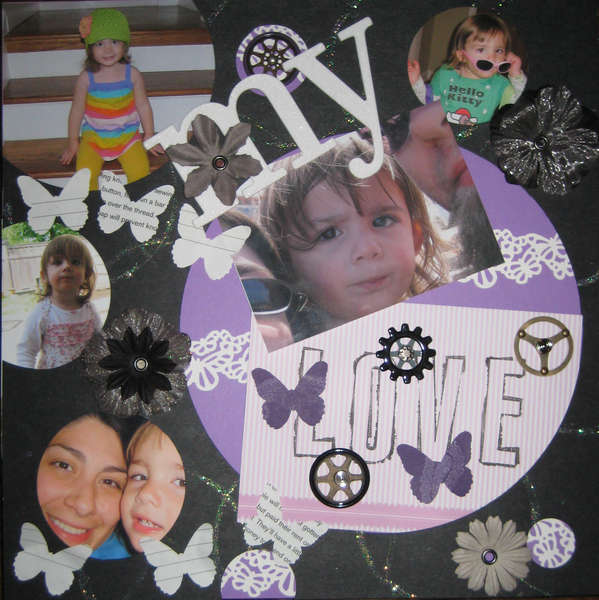 My Love - Circle Challenge