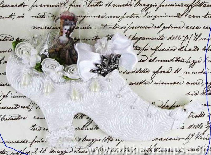 Marie Antoinette shoe